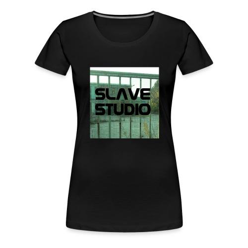 Logo_SLAVE_STUDIO_1518x1572 - Maglietta Premium da donna