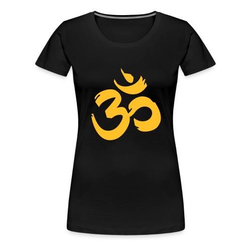 aum_yoga - Women's Premium T-Shirt