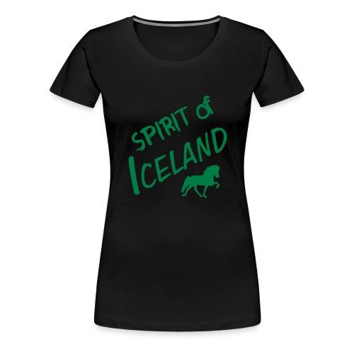 4gaits ruecken - Frauen Premium T-Shirt