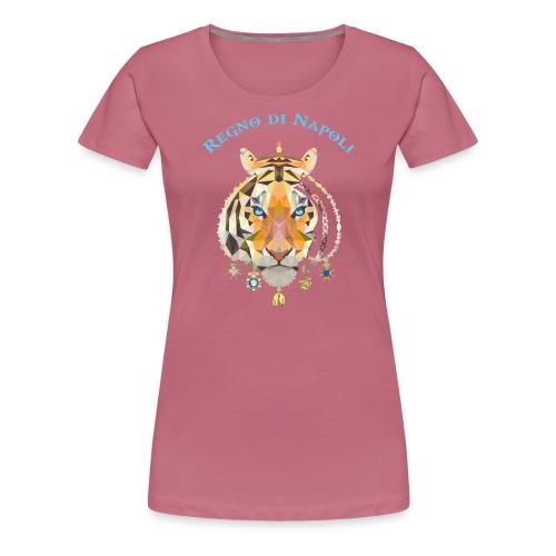 regno di napoli tigre - Maglietta Premium da donna