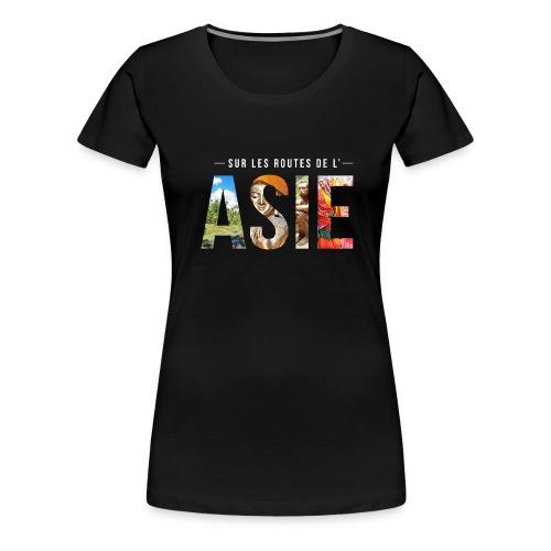 Image blanc png - T-shirt Premium Femme