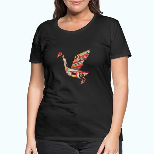 Origami bird Japanese - Women's Premium T-Shirt