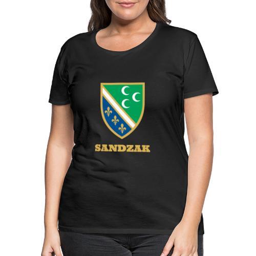 sandzak - Frauen Premium T-Shirt
