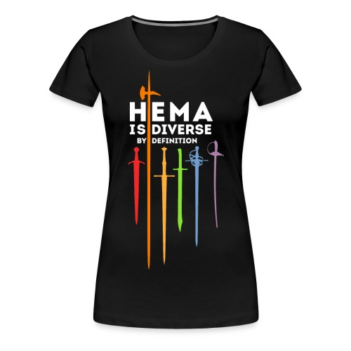 HEMA - Diverse by definition - Camiseta premium mujer