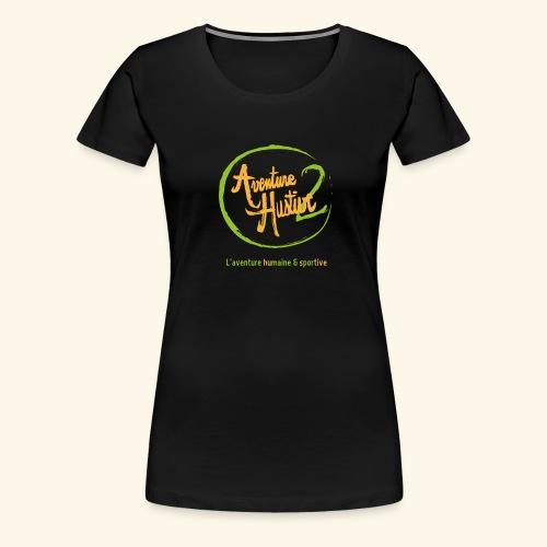 logo AventureHustive 2 - T-shirt Premium Femme