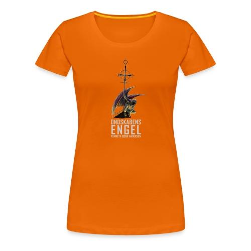Ondskabens engel - Dame premium T-shirt