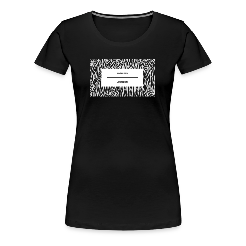 no excuses just begin - Frauen Premium T-Shirt