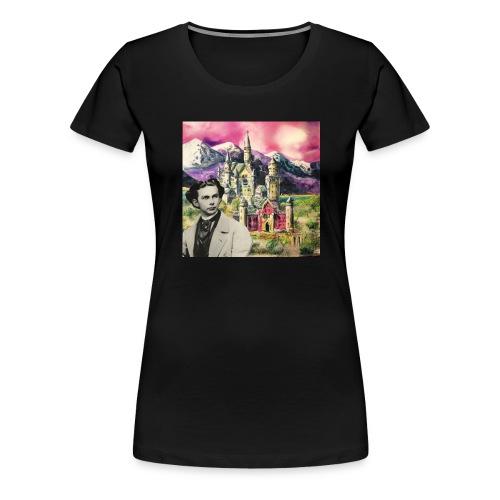Ludwig und Neuschwanstein - Women's Premium T-Shirt