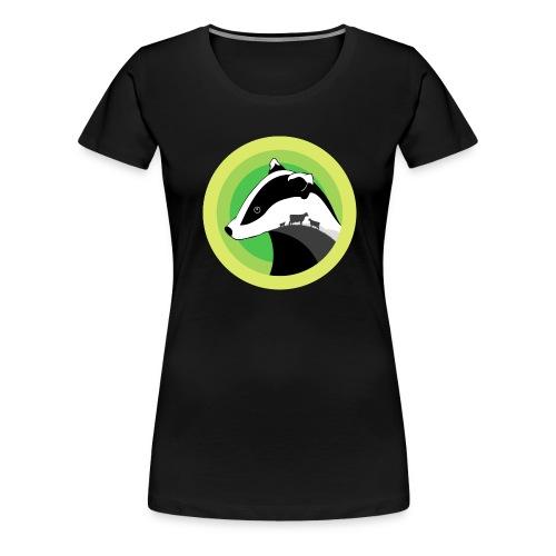 Dorset for Bagder and Bovine Welfare - Women's Premium T-Shirt