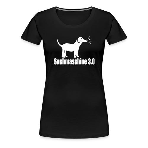 Hund Suchmaschine - Frauen Premium T-Shirt
