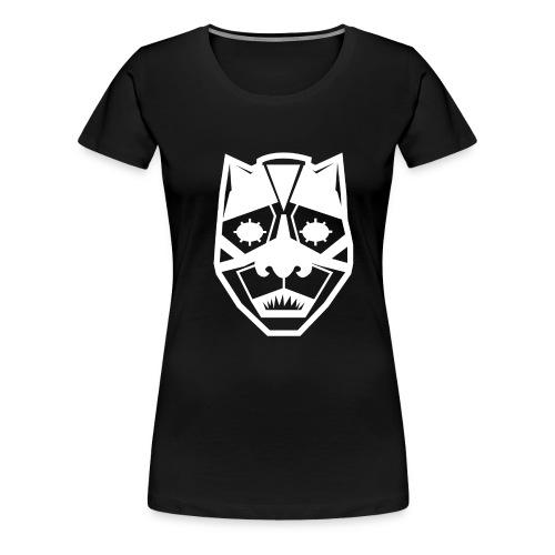 Mask White - Maglietta Premium da donna