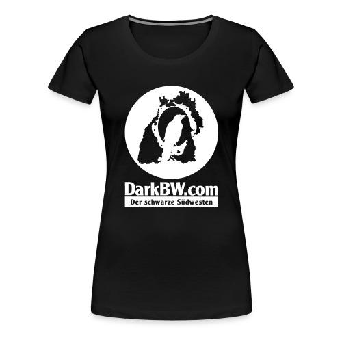 DarkBW Logo (einseitig bedruckt) - Frauen Premium T-Shirt