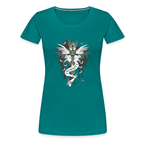 Dragon Sword - Eternity - Drachenschwert - Frauen Premium T-Shirt