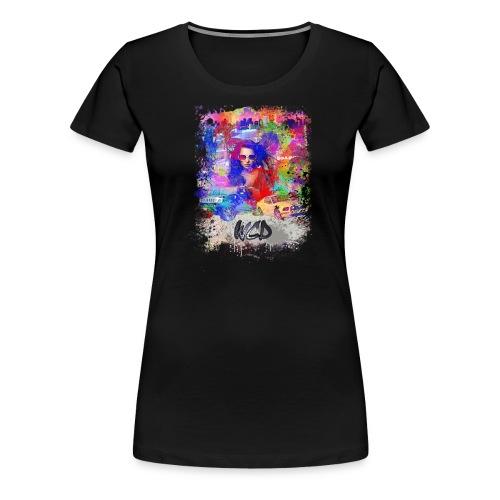 boulevard street png - T-shirt Premium Femme