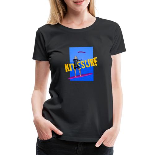 KITESURF FEMME - T-shirt Premium Femme