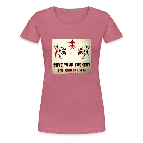 NO TIME FOR BS - Vrouwen Premium T-shirt
