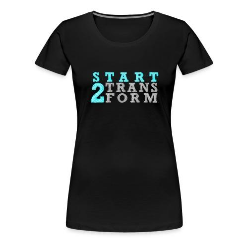 Start2Transform Türkis - Frauen Premium T-Shirt