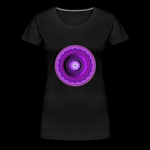 mandala 7 downsized png - Women's Premium T-Shirt