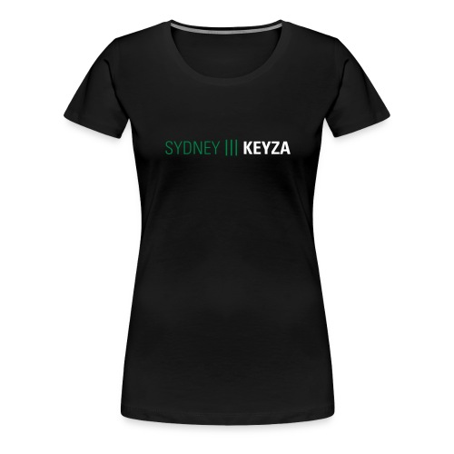 Sydney 3 Logo - Frauen Premium T-Shirt