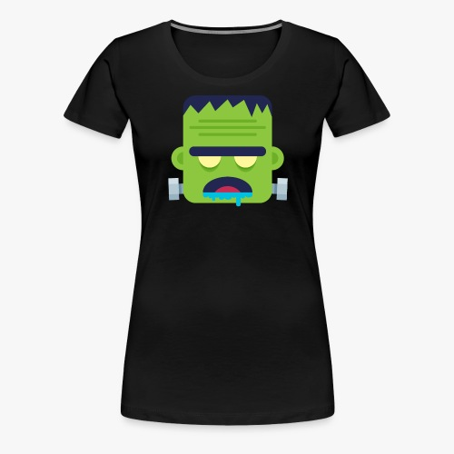 Monsters Frankie - Dame premium T-shirt