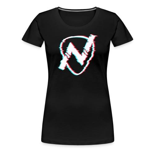 Glitch Logo - Women's Premium T-Shirt