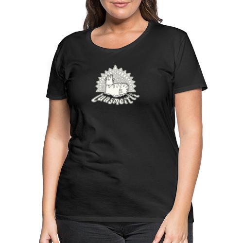 Schwiizer Shirt | Luusmeitli | Comic Katzen Shirt - Frauen Premium T-Shirt