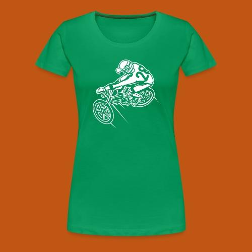 BMX Fahrrad / Bike 01_weiß - Frauen Premium T-Shirt