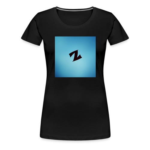 ZyproPlays logo - Women's Premium T-Shirt