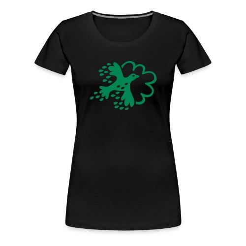 FLAX - Premium-T-shirt dam