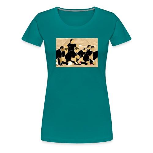 Haka - Vrouwen Premium T-shirt