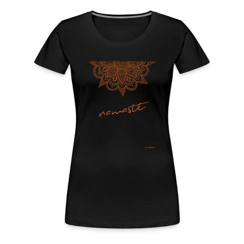 namaste_2.png - Maglietta Premium da donna