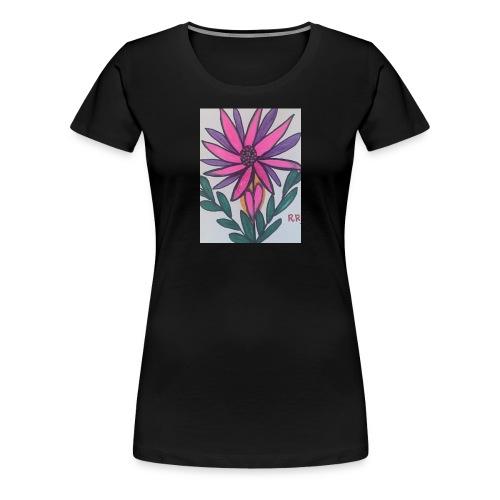 Flor - Camiseta premium mujer