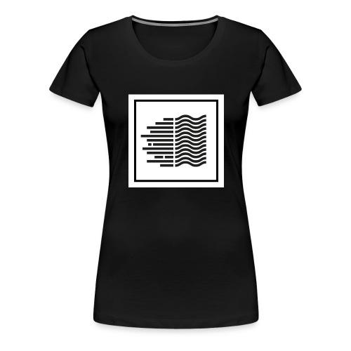 logo rive droite records - T-shirt Premium Femme