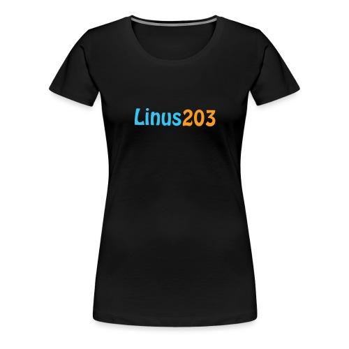 Linus203 (Litet) - Premium-T-shirt dam