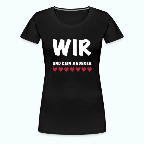 WIR - Frauen Premium T-Shirt
