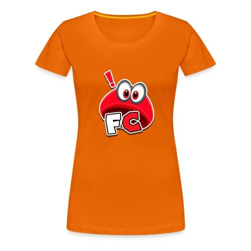 Flying Cappys Logo! - Frauen Premium T-Shirt