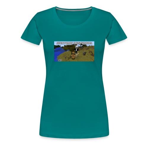 minecraft - Women's Premium T-Shirt