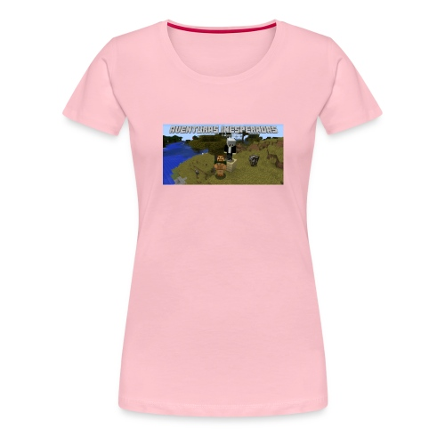 minecraft - Women's Premium T-Shirt