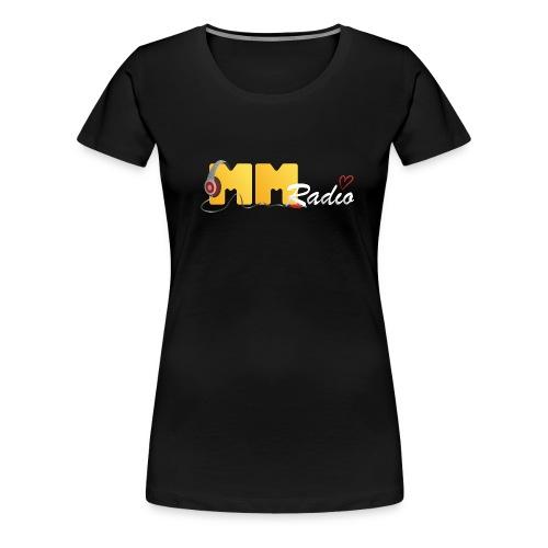 mmradio t-shirt dame - Dame premium T-shirt