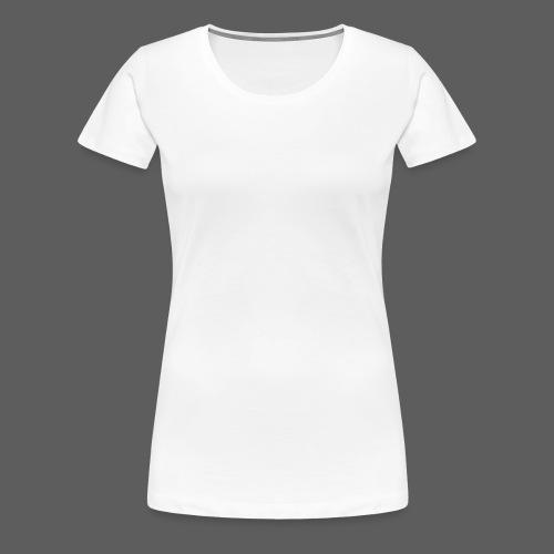 RR Symetric White Logo - Women's Premium T-Shirt