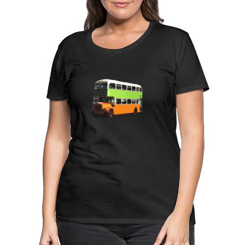 Glasgow Corporation Bus - Women's Premium T-Shirt