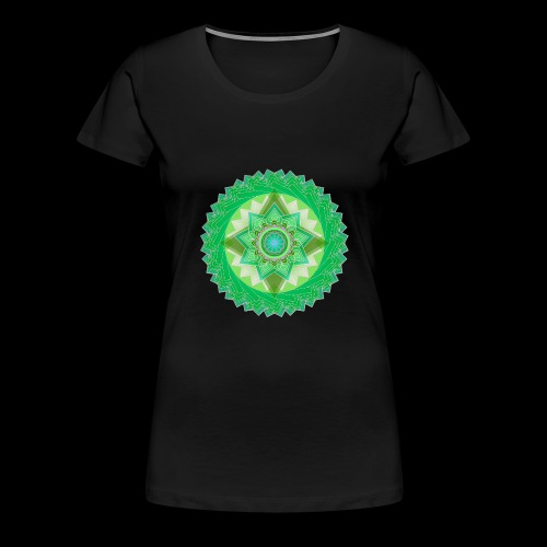 mandala 1 - Women's Premium T-Shirt