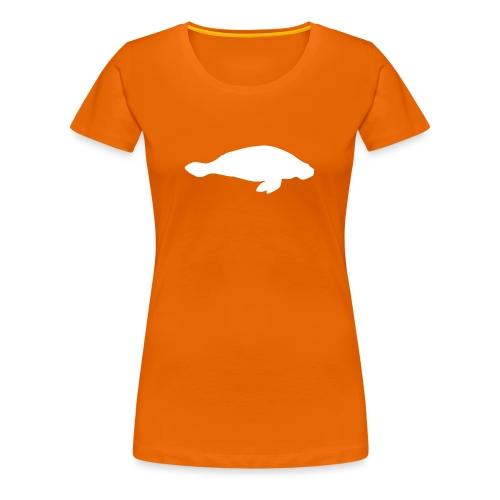 Larry Fitzpatrick X Manatee - Frauen Premium T-Shirt