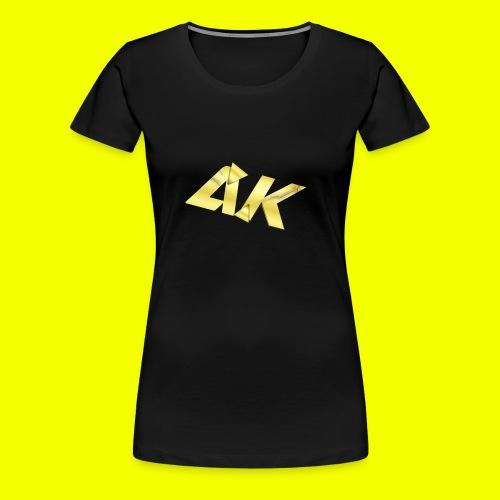 AK Logo - Women's Premium T-Shirt