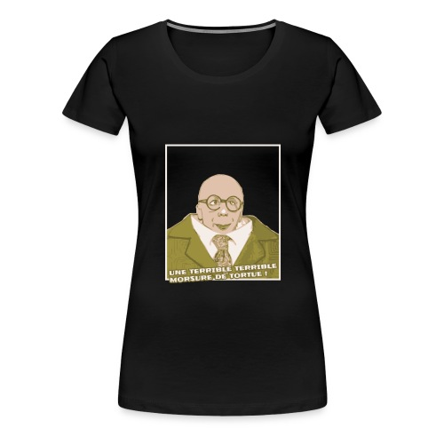 motif tortue 29Janv 01 png - T-shirt Premium Femme