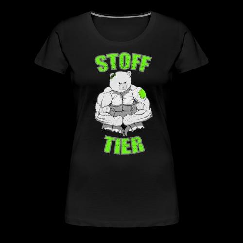 Frauen Stofftier - Frauen Premium T-Shirt
