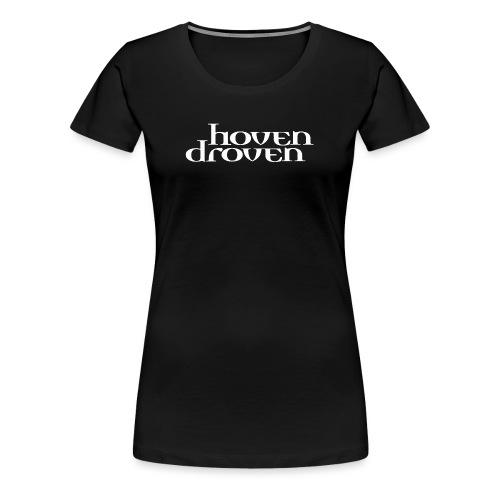 Hoven Droven Logga stor V - Women's Premium T-Shirt