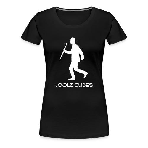 Joolz Guides White Logo - Women's Premium T-Shirt