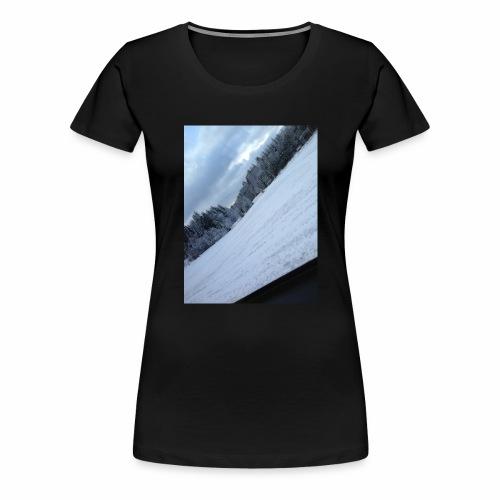 Norsk Natur - Premium T-skjorte for kvinner