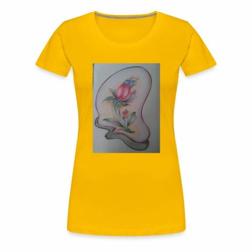 fiore magico - Maglietta Premium da donna
